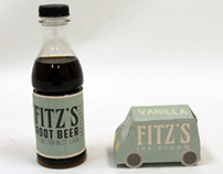 Fitz's Root Beer Packaging