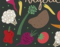 Vegetales pattern