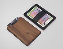 The Union: Wood & Elastomer Wallet