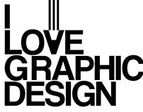 I love graphic design