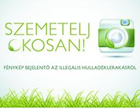 Szemetelj Okosan app