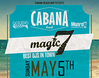 Cabana Beach Opening