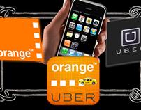 Partnership= Uber + Orange