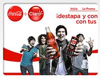 Coca Cola & Claro - Propuesta Gráfica