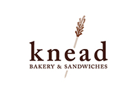 Knead Logotype and Identity System