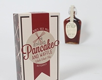 Syrup and Pancake Packaging