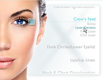 Graphics for a Plastic Surgery Site