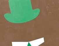 Yogi Bear Minimalist Poster