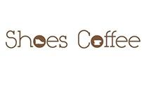 Shoes Coffee Logo