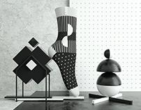 ZEHN-ZEHN Socks