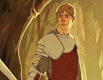 BBC Merlin Illustrations