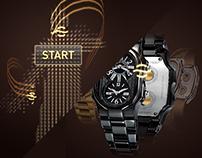 Philip Stein Interactive Watch Selector