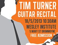 Music Recital Poster