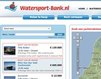 Watersport-Bank