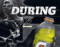 Gatorade - Before, During, After