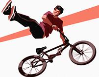 URBAN DOODLES_snowboard, rollerblade & bmx