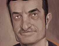Rogerio caricature