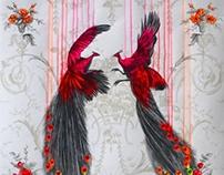Further artworks on wallpaper