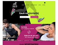 SPORTGATES 24/7 WEB design and programming