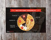 Dialsmith Thanksgiving Pie Infographics Design