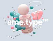 SOCIAL KV // AME.TYPE