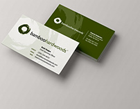 Business Cards - Bamboo Hardwoods