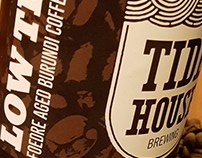 Tidehouse - Low Tide Beer Label