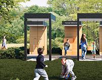 Дизайн-модуль благоустройства территории