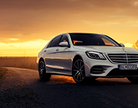 Mercedes-Benz S400d Long | Sunset Callin'