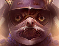 Pugna the last pug samurai