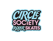 CIRCLE SOCIETY ROLLER SKATES BRAND