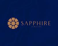 SAPPHIRE jewelry logo diamond luxury design