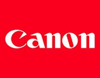 RRSS - Canon Perú / Colombia