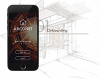 Arconet- App for architects