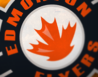 Edmonton Flyers Hockey Club Identity