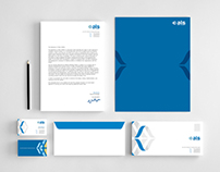 Corporate identity for Media & Management Co, Egypt