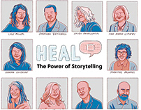 HEAL The Power of Storytelling conference