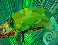 Project Art4Fun chameleon