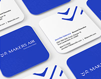 Makers Air // Brand Development + Stationery