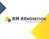 Logo + Branding - RM Rénovation
