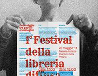 FESTIVAL DELLA LIBRERIA DIFFUSA DELL'ISOLA / POSTER