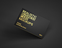 Business Card MockUp FREE DOWNLOAD!