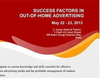 SUCCESS FACTORS IN OUT-OF-HOME ADVERTISING