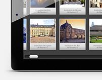 """Centre Pompidou """"Connaissance des Arts"""" iPad App"""