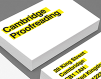 Cambridge Proofreading