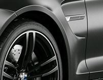 BMW M4 matte black