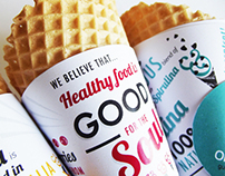 Om&nom Ice Cream brand