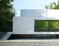 Dom z zieloną zasłoną