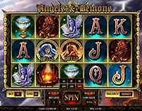 """Angels & Demons"" Game Slot"