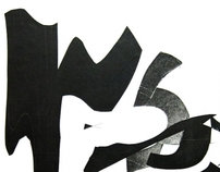 analog typographic posters